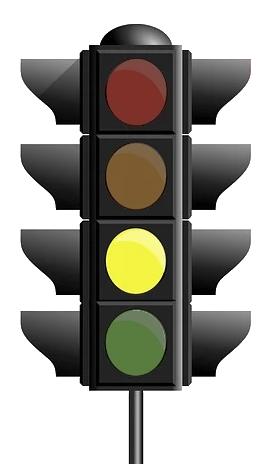 Corona-Ampel steht auf gelb